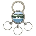 Your Photo Here copy 3-Ring Key Chain