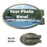 Your Photo Here copy Money Clip (Oval)