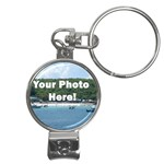Your Photo Here copy Nail Clippers Key Chain