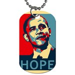 obama hope Dog Tag (One Side)