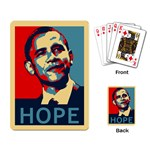 obama hope Playing Cards Single Design