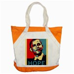 obama hope Accent Tote Bag