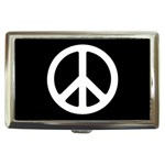 PEACE SIGN SYMBOL Peaceful Cigarette Money Case Box