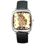 Cheeky pony Square Metal Watch