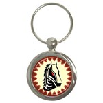 Horse head Key Chain (Round)