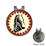 Horse head Golf Ball Marker Hat Clip