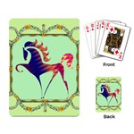 Prancing horse Playing Cards Single Design