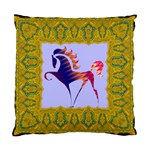 Prancing horse Cushion Case (Two Sides)