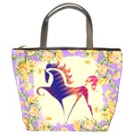 Prancing horse Bucket Bag
