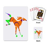 Bucking horse Playing Cards Single Design