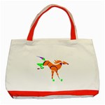 Bucking horse Classic Tote Bag (Red)