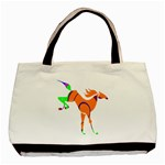 Bucking horse Classic Tote Bag (Two Sides)
