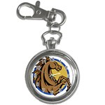 Horse circle Key Chain Watch