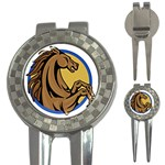 Horse circle 3-in-1 Golf Divot