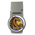 Horse circle Money Clip (Round)