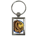 Horse circle Key Chain (Rectangle)