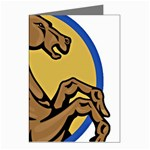 Horse circle Greeting Cards (Pkg of 8)