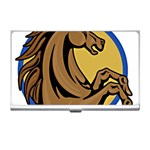 Horse circle Business Card Holder