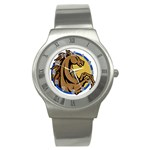 Horse circle Stainless Steel Watch