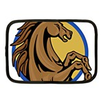 Horse circle Netbook Case (Medium)