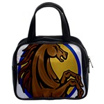 Horse circle Classic Handbag (Two Sides)