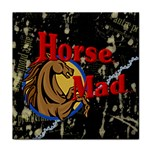 Horse mad Tile Coaster