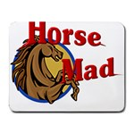 Horse mad Small Mousepad