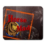 Horse mad Large Mousepad