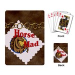 Horse mad Playing Cards Single Design
