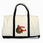 Horse mad Two Tone Tote Bag