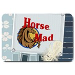 Horse mad Large Doormat
