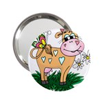 Cute cow 2.25  Handbag Mirror