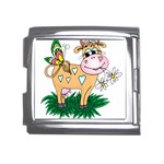 Cute cow Mega Link Italian Charm (18mm)