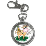 Cute cow Key Chain Watch