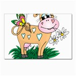 Cute cow Postcard 4 x 6  (Pkg of 10)