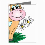 Cute cow Greeting Card