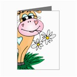 Cute cow Mini Greeting Card