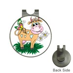 Cute cow Golf Ball Marker Hat Clip