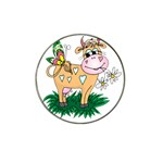 Cute cow Hat Clip Ball Marker (4 pack)