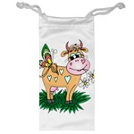 Cute cow Jewelry Bag