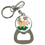 Cute cow Bottle Opener Key Chain
