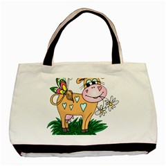 Cute cow Classic Tote Bag from UrbanLoad.com Front