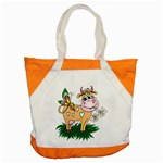 Cute cow Accent Tote Bag