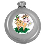 Cute cow Hip Flask (5 oz)