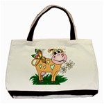 Cute cow Classic Tote Bag (Two Sides)