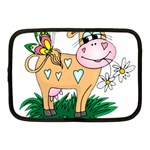 Cute cow Netbook Case (Medium)