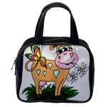 Cute cow Classic Handbag (One Side)