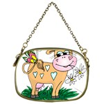 Cute cow Cosmetic Bag (One Side)