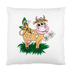 Cute cow Cushion Case (One Side)