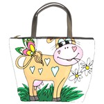 Cute cow Bucket Bag